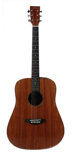 Solid Tasmanian Blackwood Dreadnought Acoustic Guitar - Steel String