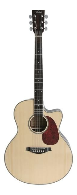 Left-Handed Jumbo Acoustic / Electric Guitar - Steel String