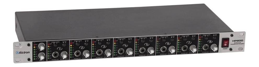 ALCTRON HP800 8 Channel Headphone Monitoring Amplifier