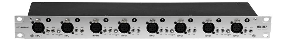SWAMP 8 Channel Microphone Signal Splitter