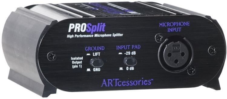 ART ProSplit Microphone Splitter Box