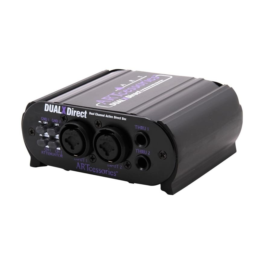 ART Professional Active Stereo DI Box - Dual Channel