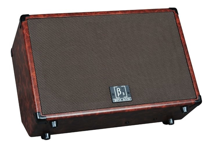 Beta Aivin WOOD60 60W Acoustic Guitar Amplifier - Mic Input and FX