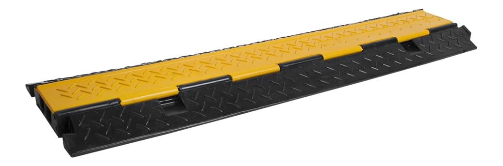 Cable Tray - Cable Cover - 2 Channel - 1m