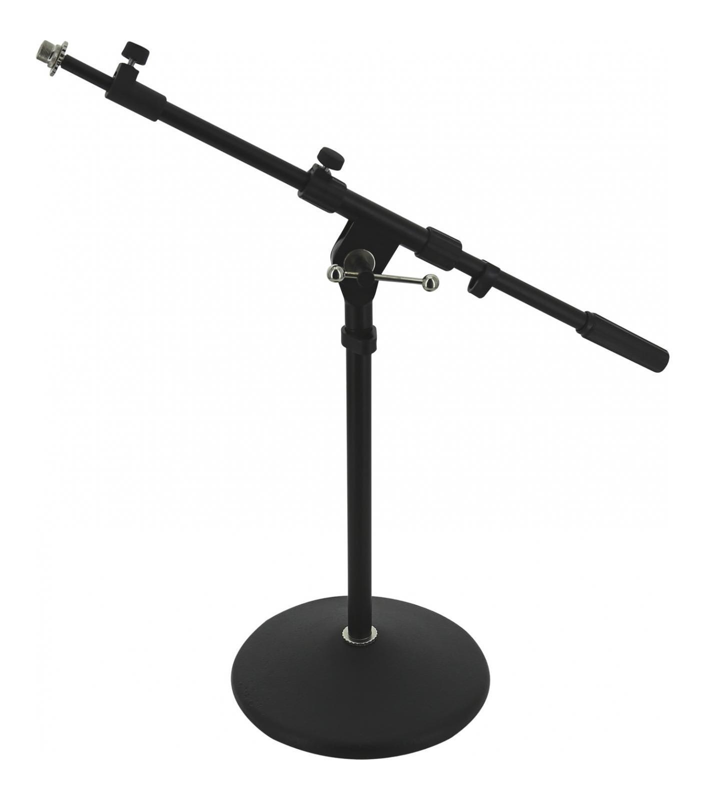 Versatile Mini Microphone Stand - Round Base
