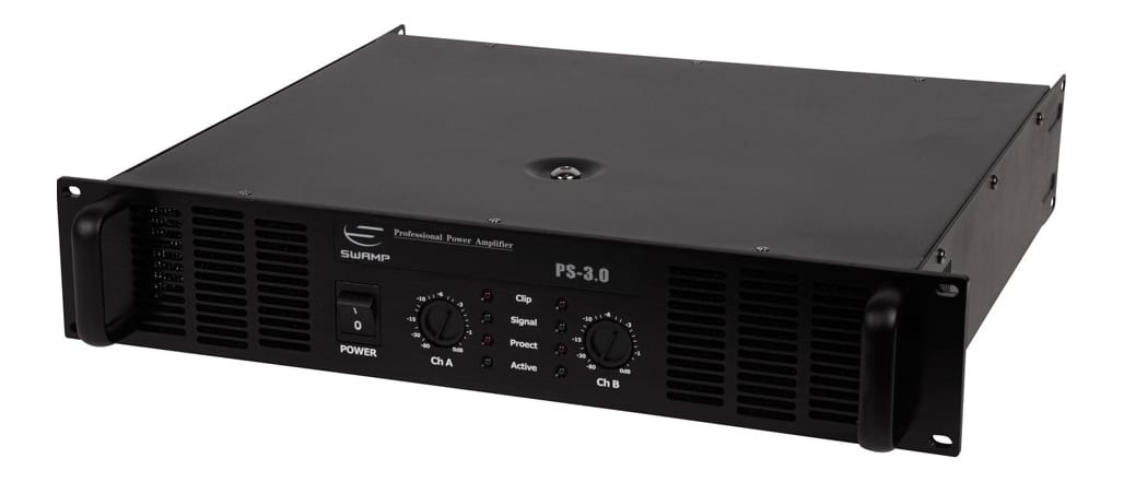SWAMP PS-3.0 Power Amplifier - Dual Channel - 2x 300W at 8Ohm
