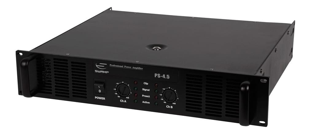 SWAMP PS-4.5 Power Amplifier - Dual Channel - 2x 450W at 8Ohm
