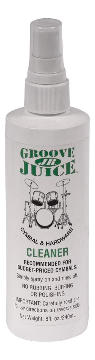 Groove Juice Jr Cymbal and Hardware Cleaner