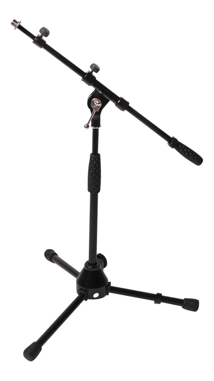 SWAMP Low Height Instrument Microphone Stand w/ Telescoping Boom
