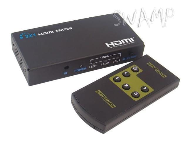 LKV331 3D 3x1 HDMI Switch with Remote Control