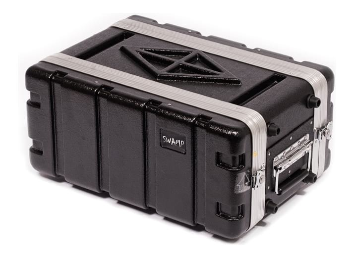 SWAMP 19 inch 4U ABS Rack Case - Half Depth