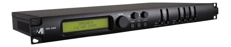 Marani DPA-240A - 2 In 4 Out - DSP - Digital Speaker Management System