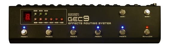 MOEN GEC9 Guitar Effects Routing System