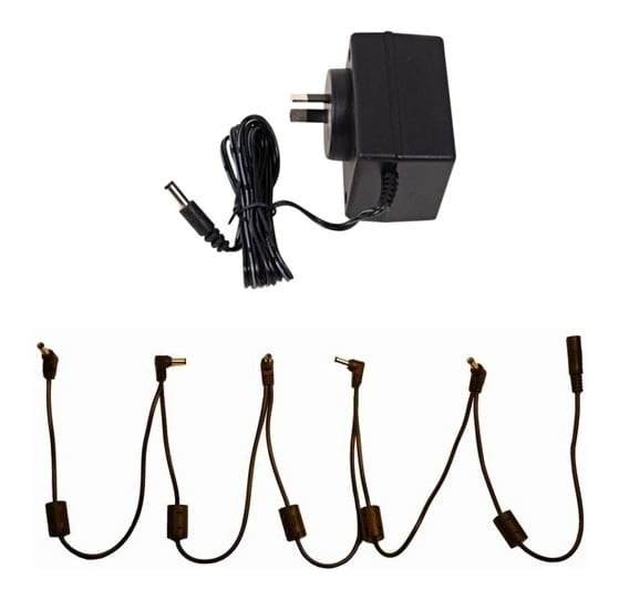 moen 9v ac adapter daisy chain guitar effect pedals swamp. Black Bedroom Furniture Sets. Home Design Ideas