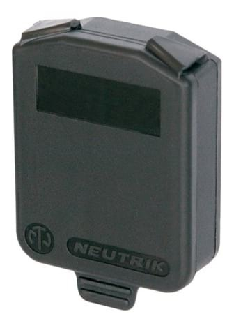Neutrik SCDX D-Size Panel Mount Dust Cover