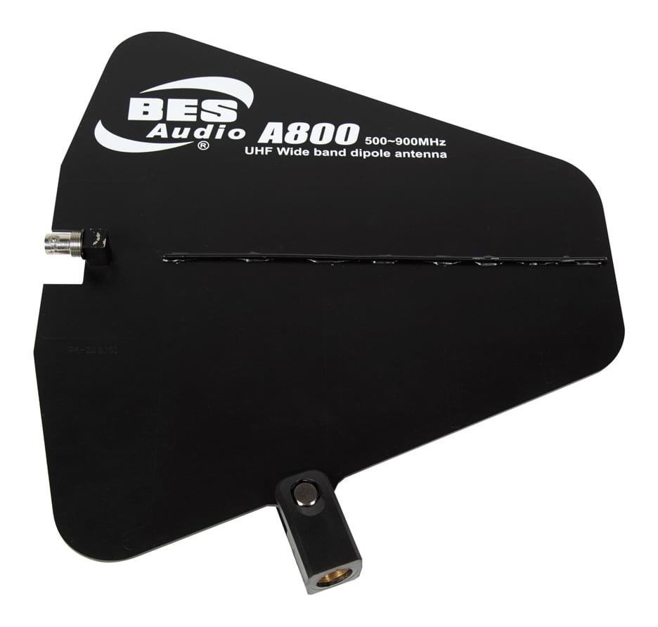 Pasgao Wireless Audio UHF Wideband Dipole Antenna Paddle 650 - 900 MHz