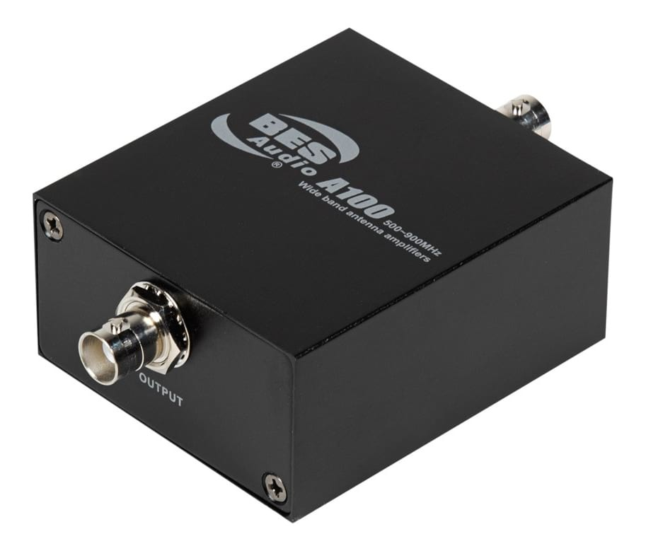 PASGAO Wide Band Antenna Amplifier for Individual Unit Wireless Systems