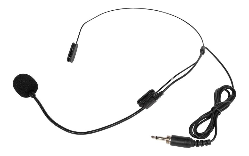 "PASGAO PH-90 Slim Headset Microphone - 1/8"" Connector - For Pasgao Body Pack"