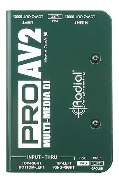 Radial ProAV2 Multimedia DI