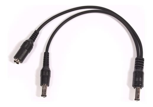 DC2 Daisy Chain - Guitar Pedal Power Cable - 2 Plug