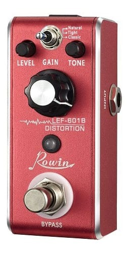 Rowin LEF601B - Mini Guitar Distortion Effect Pedal