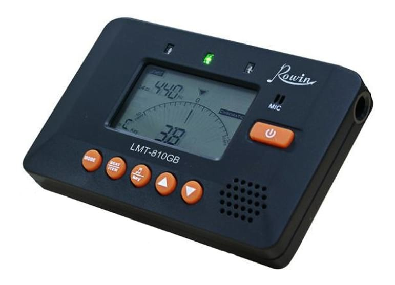 Rowin LMT-810GB Chromatic Tuner and Metronome