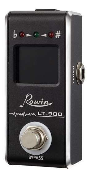 Rowin LT900 - Mini Chromatic Tuner Guitar Pedal