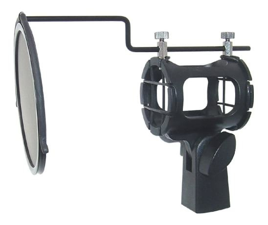 iSK SKSE113 Microphone Shockmount + Pop Filter
