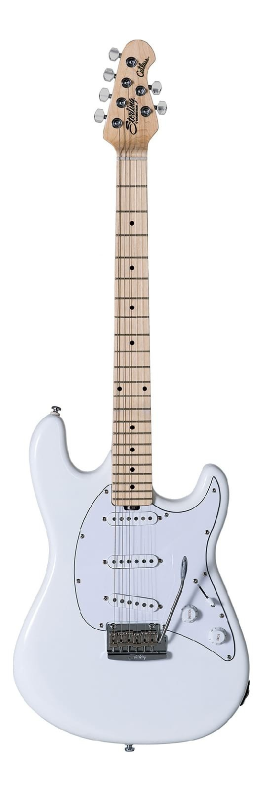 Sterling Cutlass CT50 Electric Guitar - Olympic White