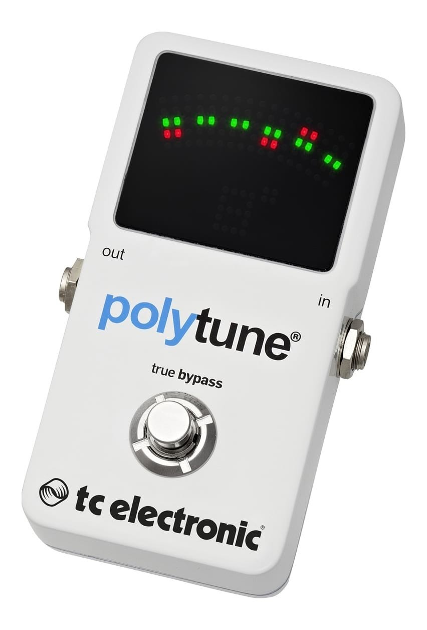 TC-Electronic Polytune2 - Guitar Tuner Pedal