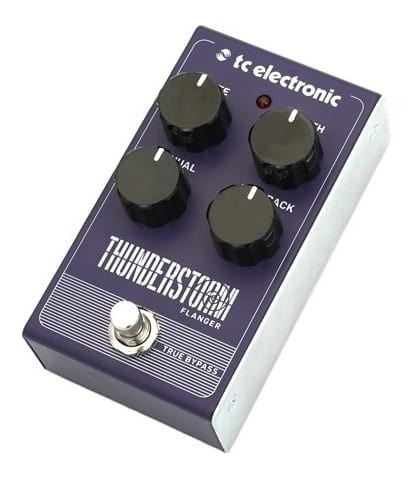tc electronic thunderstorm analog flanger guitar effects pedal swamp. Black Bedroom Furniture Sets. Home Design Ideas