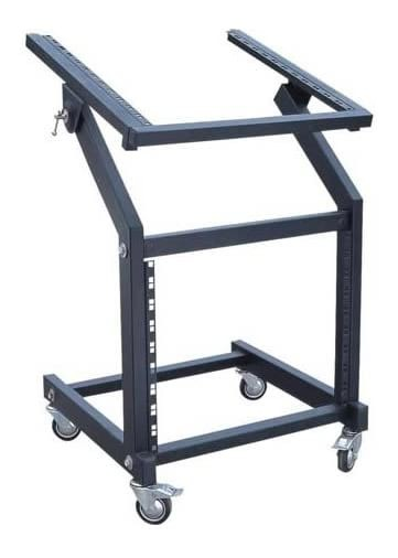 SWAMP Metal Frame Rack Stand w/ 12RU Mixer Space