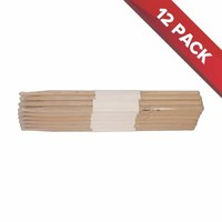 Maple Drum Sticks - 12 Pairs - Nylon Tips - 7A