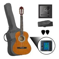 Left Handed 3/4 Size Classical Nylon String Acoustic Guitar