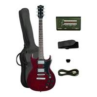 SG Style Electric Guitar - Red + Accessories