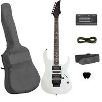 AG70 Electric Guitar - White - Floyd Rose + Whammy Bar + Accessories