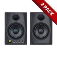 "Pair of Monkey Banana Gibbon Air Series Active 4"" Studio Monitors - Black"