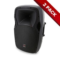 "2x SWAMP 12"" Powered PA Speaker - Bi-amped - 150W + 30W RMS"