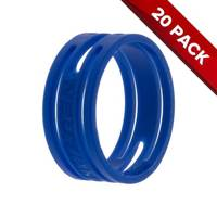 20x Neutrik XXR-6 XLR Connector Blue Coding Rings