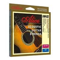 Alice Steel Acoustic Guitar Strings 12-53