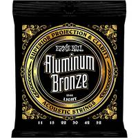 Ernie Ball 2568 Aluminium Bronze Light Acoustic Strings 11 - 52