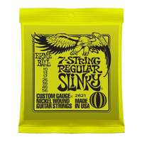 Ernie Ball 2621 Regular Slinky 7-String Electric Guitar Strings 10 - 56