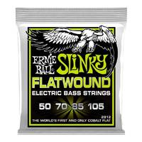 Ernie Ball 2812 Regular Slinky Flatwound Bass Guitar Strings - 50 - 105