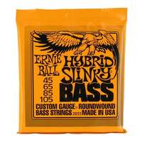 Ernie Ball 2833 Hybrid Slinky Bass Guitar Strings 45 - 105
