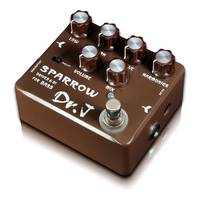 Dr. J - D53 Sparrow Driver and DI Bass Guitar Pedal