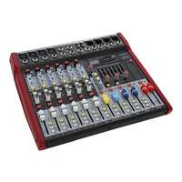 SWAMP 6 Channel Mixing Desk - 4 Mic Preamps - Graphic EQ - USB MP3 Player