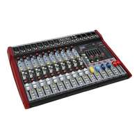 SWAMP 10 Channel Mixing Desk - 8 Mic Preamps - Graphic EQ - USB MP3 Player