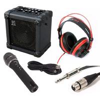 Kids Microphone Speaker Package for Practice and Recording