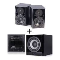 FOSTEX Studio Monitor Speaker Package - 2x PM0.4d and 1x PM Sub