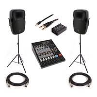 SWAMP Small Band PA System + Stage Equipment - 360W